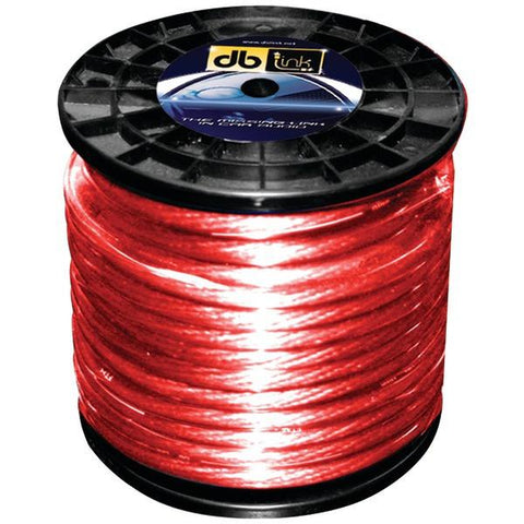 DB Link PW4R100Z Power Series Power Wire (4 Gauge, Red, 100ft) - Peazz.com