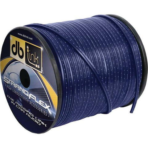 DB Link SFSW10BL100Z Strandflex Blue Speaker Wire (10 Gauge, 100ft) - Peazz.com