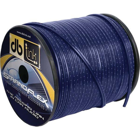 DB Link SFSW12BL250Z Strandflex Blue Speaker Wire (12 Gauge, 250ft) - Peazz.com
