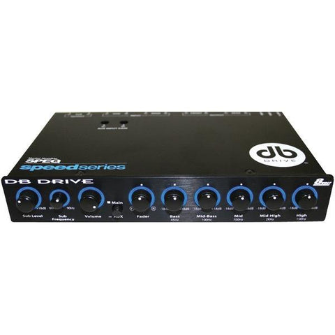 DB Drive SPEQ Speed Series 5-Band Equalizer - Peazz.com