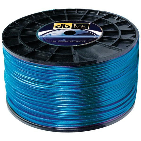 DB Link SW18G1000Z Blue Speaker Wire (18 Gauge, 1,000ft) - Peazz.com