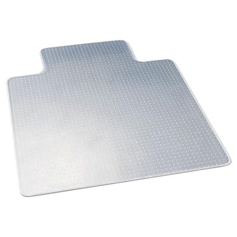 "Deflecto CM13233COM Chair Mat with Lip for Carpets (45"" x 53"", Low Pile) - Peazz.com"