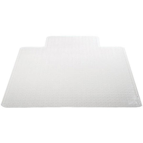 "Deflecto CM14233COM Chair Mat with Lip for Carpets (45"" x 53"", Medium Pile) - Peazz.com"