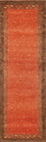 "Momeni DEGABDG-01PAP96D6 Indian Hand Knotted Collection Paprika Finish Rugs 9'6""X13'6"""