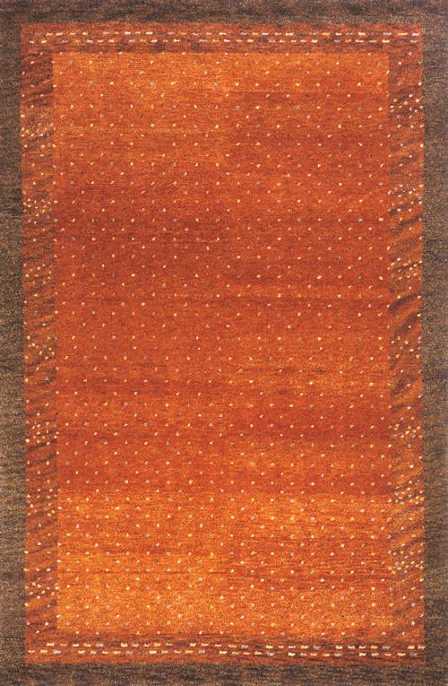 Indian Hand Knotted Collection Paprika Rugs 169 Product Photo