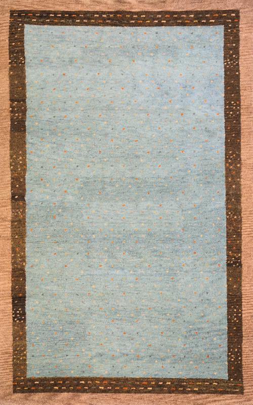 Indian Hand Knotted Collection Slate Rugs 169 Product Photo