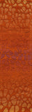 Momeni DELHIDL-33PAP80A0 Indian Hand Tufted Collection Paprika Finish Rugs 8'X10'