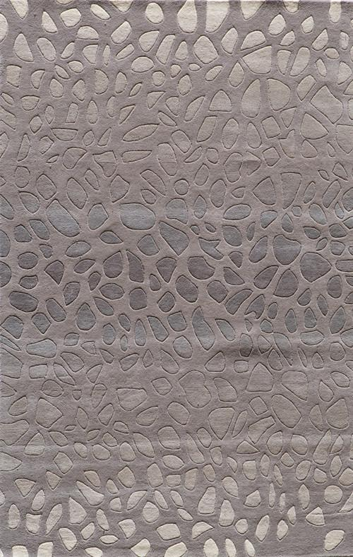 Indian Hand Tufted Collection Silver Rugs 3098 Product Photo