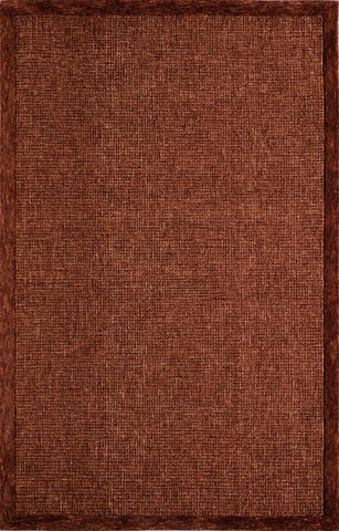 Momeni DELHIDL-65RST5080 Indian Hand Tufted Delhi Collection Rust Finish Rugs