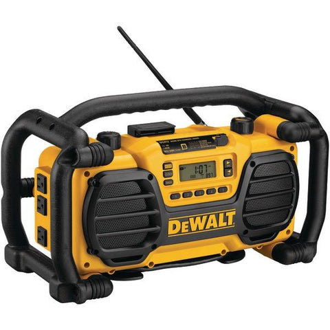 DEWALT DC012 Worksite Radio with Built-in Charger - Peazz.com