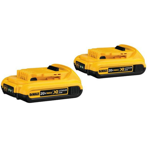 DEWALT DCB203-2 20-Volt 2.0Ah Li-Ion Battery (2 pk) - Peazz.com