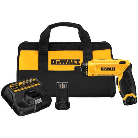 DEWALT DCF680N2 8-Volt Screwdriver Kit with 2 Batteries - Peazz.com