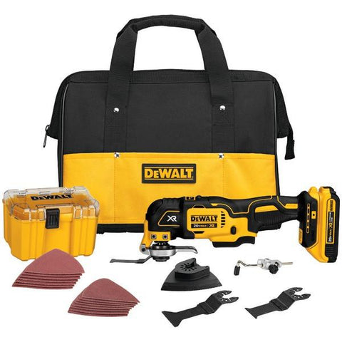 DEWALT DCS355D1 20-Volt MAX XR Li-Ion Oscillating Multi-Tool Kit - Peazz.com