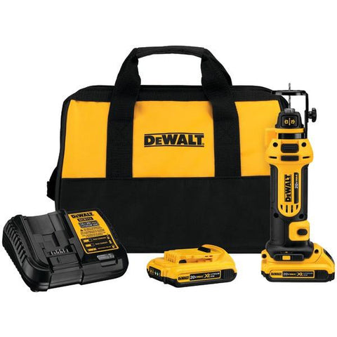 DEWALT DCS551D2 20-Volt Drywall Cutout Tool Kit - Peazz.com
