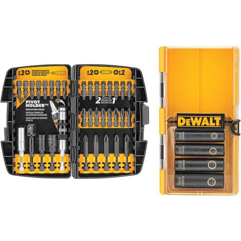 DEWALT DW2169 38-Piece Impact Driver Accessory Set - Peazz.com