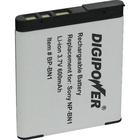 DIGIPOWER BP-BN1A Sony NP-BN1 Digital Camera Replacement Battery - Peazz.com