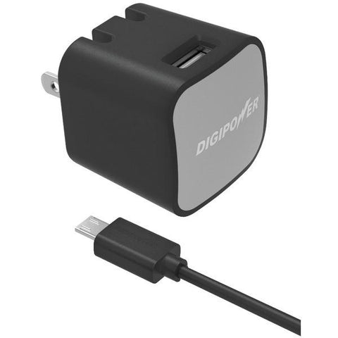 DIGIPOWER IS-AC2M InstaSense 2.4-Amp Single-Port USB Wall Charger - Peazz.com