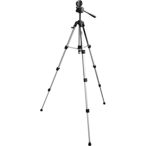 "DIGIPOWER TP-TR62 3-Way Pan Head Tripod with Quick Release (Extended height: 62"") - Peazz.com"
