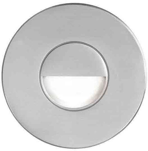 Dainolite DLEDW-300-BA Brushed Alum Round In/Outdoor 3W LED Wal