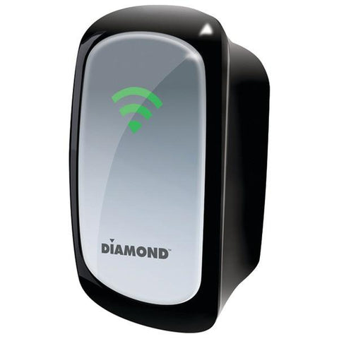 Diamond WR300NSI Wireless 802.11 300Mbps Range Extender/Repeater with Signal Indicator - Peazz.com