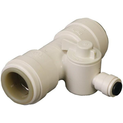 "Dormont TEE-010-P5 1/2"" Quick-Connect Tee Valve - Peazz.com"
