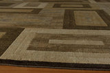 "Momeni DREAMDR-02BRN7A9A Turkish Machine Made Collection Brown Finish Rugs 7'10""X9'10"""