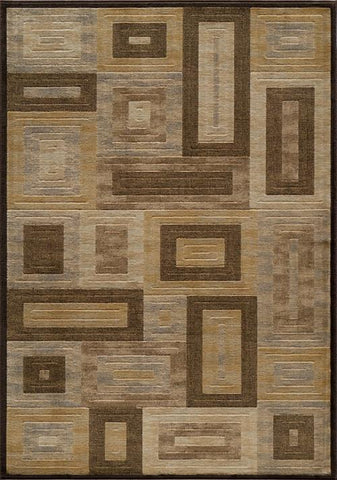 Momeni DREAMDR-02BRN5376 Turkish Machine Made Dream Collection Brown Finish Rugs