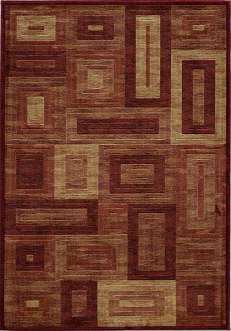 Momeni DREAMDR-02RED7A9A Turkish Machine Made Dream Collection Red Finish Rugs