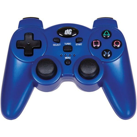 dreamGEAR DGPS3-1391 PlayStation3 Radium Wireless Controller (Metallic Blue) - Peazz.com