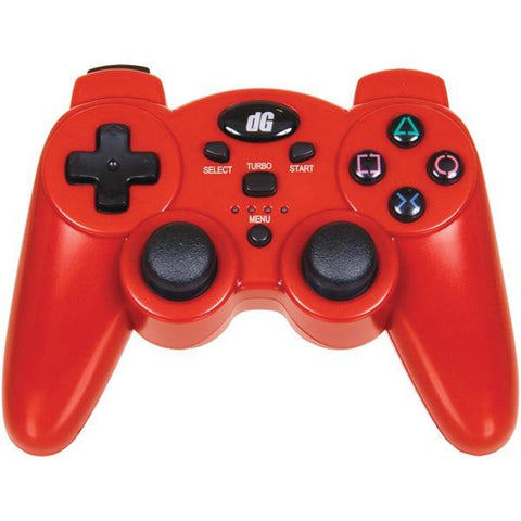 dreamGEAR DGPS3-1392 PlayStation3 Radium Wireless Controller (Metallic Red) - Peazz.com