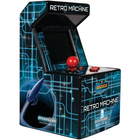 dreamGEAR DGUN-2577 Retro Machine with 200 Built-In Games - Peazz.com