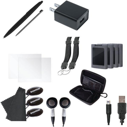 dreamGEAR DG3DSXL-2261 Nintendo 3DS XL 20-in-1 Essentials Kit - Peazz.com