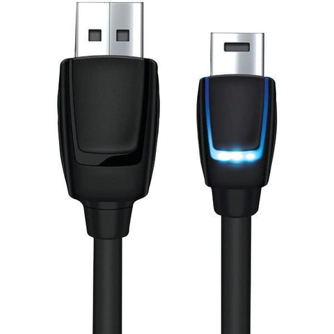 dreamGEAR DGPS4-6405 PlayStation4 LED Charging Cable, 10ft - Peazz.com