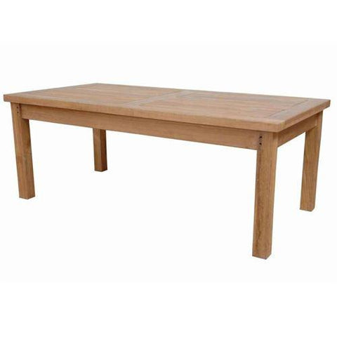 Anderson Teak DS-3014 South Bay Rectangular Coffee Table - Peazz.com