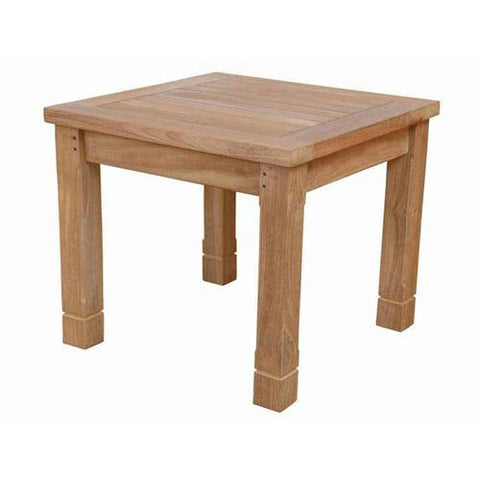 Anderson Teak DS-3015 South Bay Square Side Table - Peazz.com
