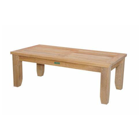 Anderson Teak Rect Coffee Table Luxe
