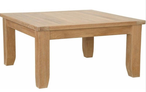 Anderson Teak DS-507 Luxe Square Coffee Table - Peazz.com