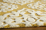"Momeni DUNESDUN-5GLD2380 Indian Hand Tufted Collection Gold Finish Runner 2'3""X8'"