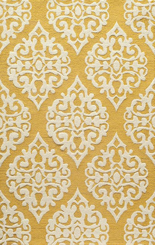 Momeni DUNESDUN-5GLD2380 Indian Hand Tufted Dunes Collection Gold Finish Runner