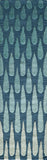 "Momeni DUNESDUN-7BLU3656 Indian Hand Tufted Collection Blue Finish Rugs 3'6""X5'6"""
