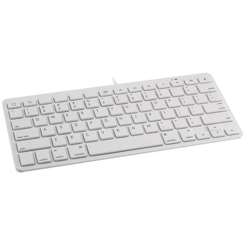 Devicewear WKB-IP8-WHT Wired Lightning Keyboard (White) - Peazz.com