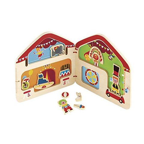 Hape Big Top Circus Magnetic E3017 Playscapes