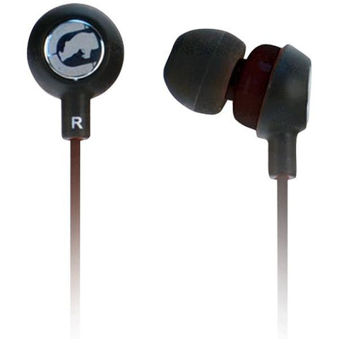 Ecko Unlimited EKU-CHA2-BK Ecko Chaos 2 Earbuds with Microphone (Black) - Peazz.com