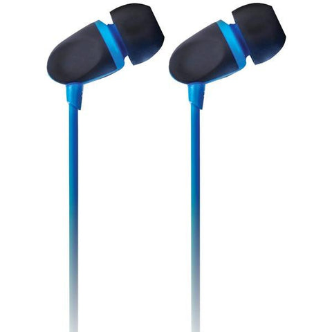 Ecko Unlimited EKU-PCH-BL Pinch Earbuds with Microphone (Blue) - Peazz.com