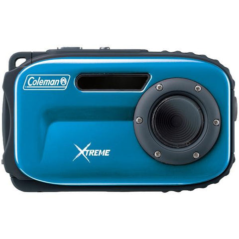 Coleman C5WP-BL 12.0-Megapixel Xtreme Waterproof Digital Camera (Blue) - Peazz.com
