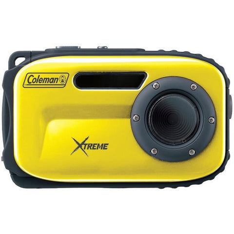 Coleman C5WP-Y 12.0-Megapixel Xtreme Waterproof Digital Camera (Yellow) - Peazz.com