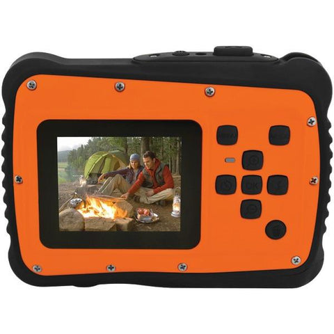 Coleman C6WP-O 12.0-Megapixel MiniXtreme HD Video Waterproof Digital Camera (Orange) - Peazz.com