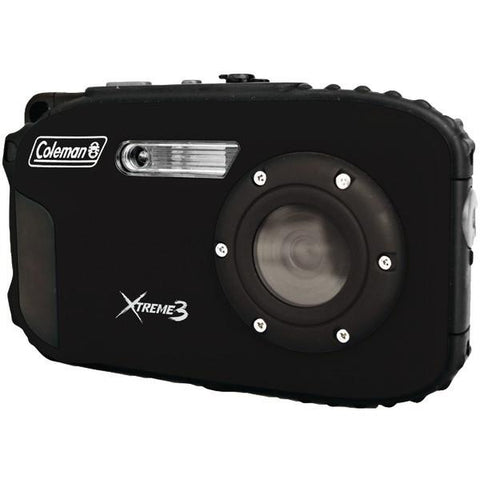Coleman C9WP-BK 20.0-Megapixel Xtreme3 HD Video Waterproof Digital Camera (Black) - Peazz.com