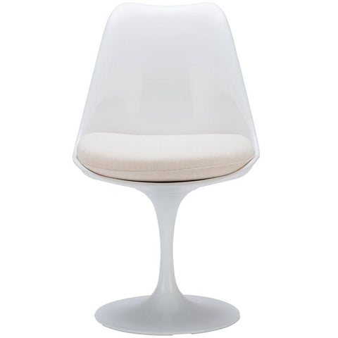EdgeMod EM-106-WHI Daisy Side Chair in White