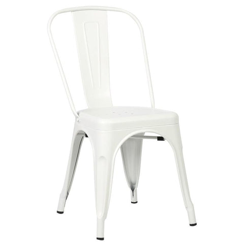 EdgeMod EM-112-WHI Trattoria Side Chair in White